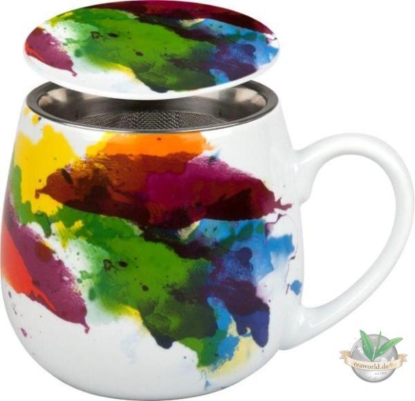 Tea for you - Flow mit Deckel und Teesieb