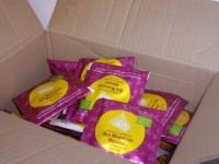 Bio Maracuja-Orange Früchtetee 100 Pyramiden Teebeutel