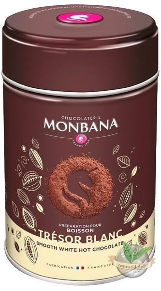 Tresor White Chocolate Powder Monbana Trinkschokolade