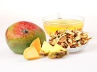 Sommerpunsch milder Früchtetee mit Moringa