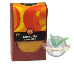 Bio Kurkuma (Gelbwurz) gemahlen 30g kbA