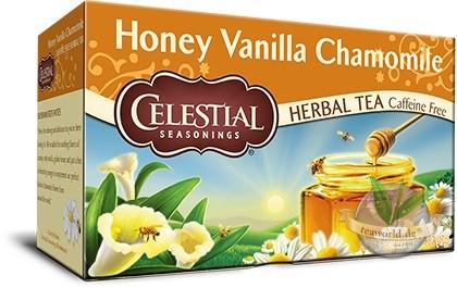 Honey Vanilla Chamomile - 20 Teebeutel Kräutertee - Celestial Seasonings Tee