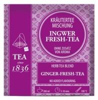 Kräutermischung Ingwer fresh Tee - 50 Pyramidenbeutel