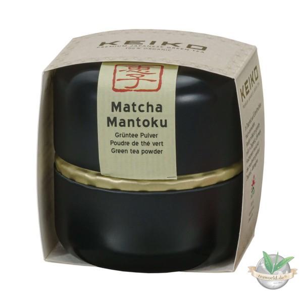 Bio Japan Matcha Tee Mantoku - 30g Schmuckdose - Keiko Green Tea