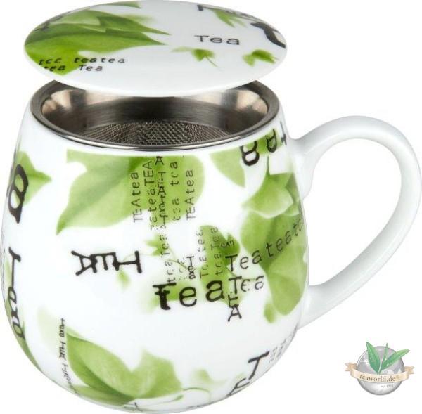 Kuschelbecher Tea for you - Collage