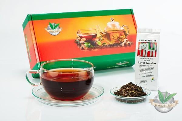 10x50g Schwarzer Tee klassisch Probierpaket
