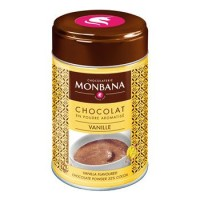 Flavoured Chocolate Powder Vanilla Monbana Trinkschokolade