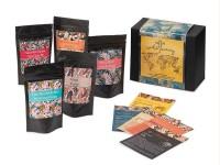 Kaffee Geschenkbox Coffee World Journey klassisch - 5x70g Röstkaffee in Bohnen
