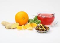 Basilikum-Ingwer-Orangen Früchtetee - Teaworld's Nr.1