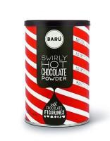 BARU Swirly Chocolate Powder & Schokofiguren 250 g