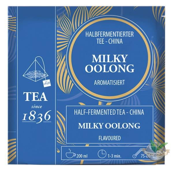 China Milky Oolong - 50 Tee Pyramidenbeutel a 3g
