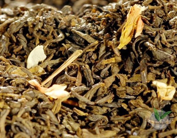 China Jasmin mit extra vielen Blüten - Grüner Tee