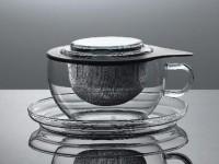 Tea for one Jenaer - Trendglas mit Edelstahlfilter