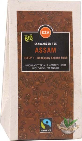 Bio Assam TGFOP1 Banaspaty second flush aus fairem Handel - schwarzer Tee - Fair
