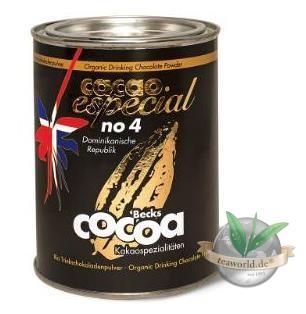 Bio Fairtrade Cacao Especial No4 Dominikanische Republik - Becks Cocoa 250g