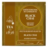 Black Chai Gewürztee mit schwarzem Tee - 50 Pyramidenbeutel à 3,5g