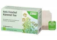 Bio Anis Fenchel Kümmel Tee - Salus® - 15 Filterbeutel - Kräutertee