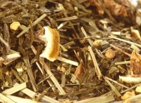 Ingwer-Zitrone - aromatisierter Gelber Tee
