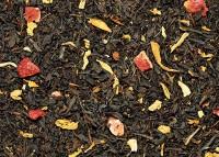 Bio Pfirsich-Erdbeer Schwarzer Tee