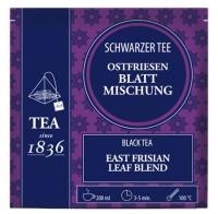 Schwarzer Tee Ostfriesen Blattmischung 50 Pyramidenbeutel im Sachet à 3 g