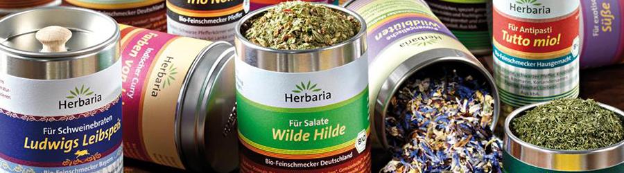 Banner-Image Bio Gewürze von Herbaria