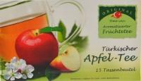Türkischer Apfeltee im Teebeutel