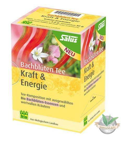 "Bachblüten Tee ""Kraft & Energie"" SALUS Haus® 15 Teebeutel a 2,0g"
