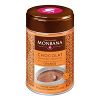 Flavoured Chocolate Powder Orange Monbana Trinkschokolade