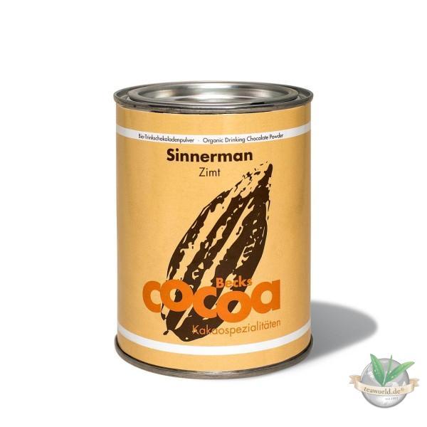 Bio Trinkschokolade Zimt Sinnerman - Becks Cocoa - 250g