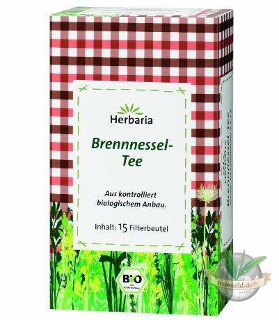 Bio Brennnessel-Tee, Filterbeutel von Herbaria