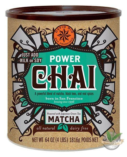 Power Chai mit Matcha - David Rio - Foodservice 1816g
