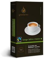 Lungo Latino Mezzo - Premium Kaffee Kapseln passend für Nespresso®* Maschinen