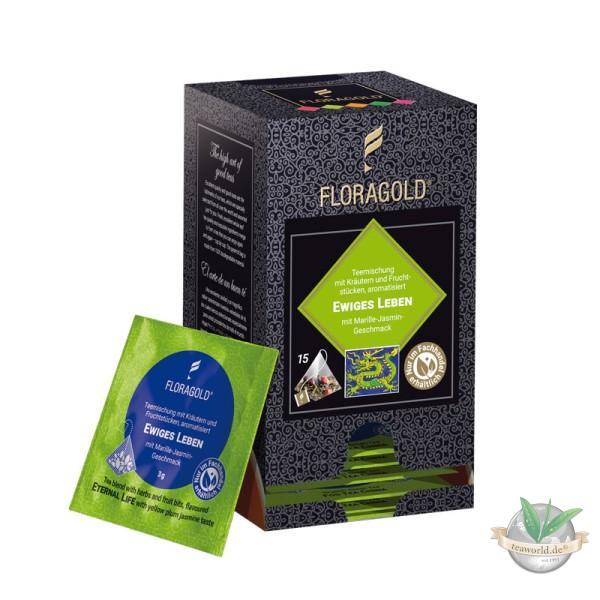Ewiges Leben Grüner Tee 15 Pyramiden Teebeutel