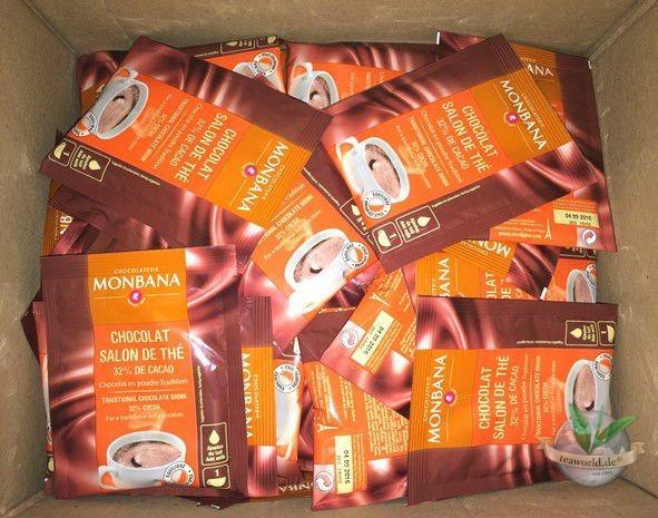 Monbana Salon De Thé Chocolate Powder 100x20g Portionsbeutel