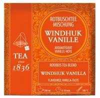 Rotbuschteemischung Windhuk Vanille - 50 Pyramidenbeutel à 3,5g