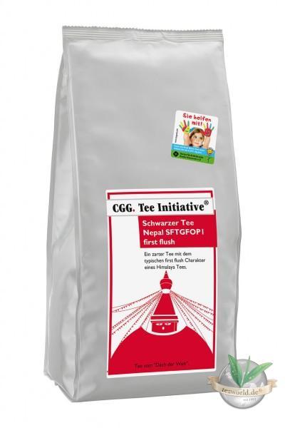 Nepal Tee first flush SFTGFOP1 rückstandskontrolliert Teeinitiative