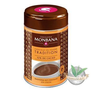 Chocolat en Poudre Tradition - Chocolate Powder Monbana Trinkschokolade
