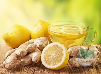 Ingwer Zitrone natürlich - Grüner Tee