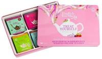 Geschenkset - Englische Teekollektion in hochwertiger Metallbox (rosa)