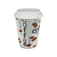 Coffee-To-Go Mug - Coffee Collage