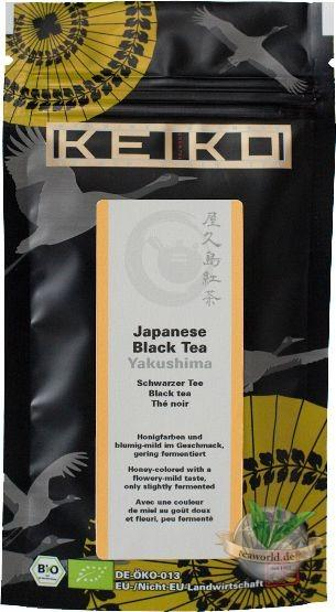 Bio Japanese Black Tea Yakushima - Keiko Black Tea