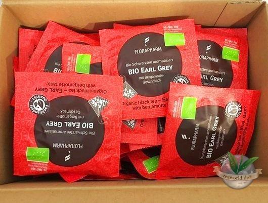 Bio Earl Grey - Schwarzer Tee 100 Pyramiden Teebeutel