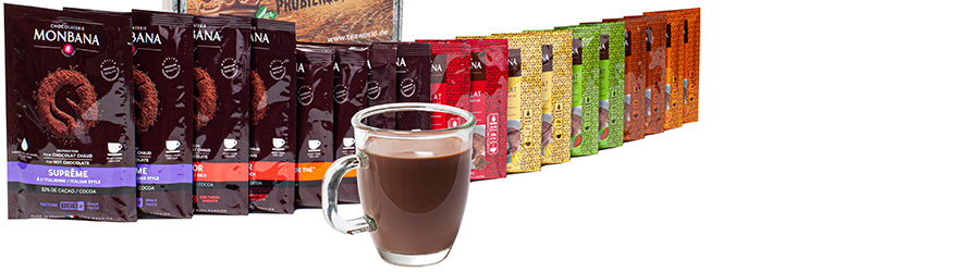 Banner-Image Monbana Trinkschokolade