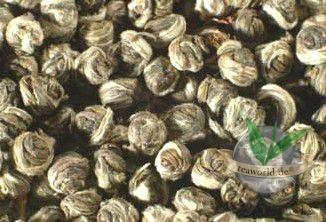China Jasmin Tai Mu Long Zhu - Dragon Pearl Premium Qualität Grüner Tee