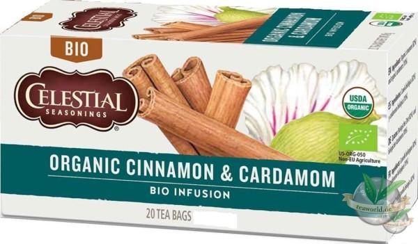 Organic Cinnamon & Cardamom - Bio Celestial Seasonings Tee