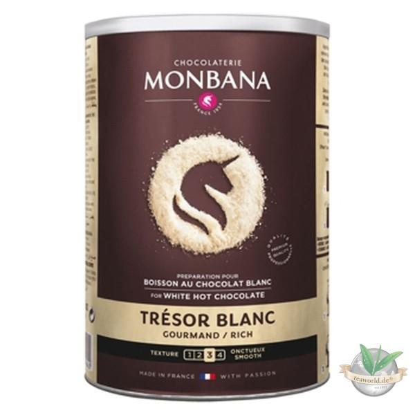Tresor White Chocolate Powder Monbana 500g Trinkschokolade