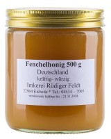 Fenchelblüten Honig 500g