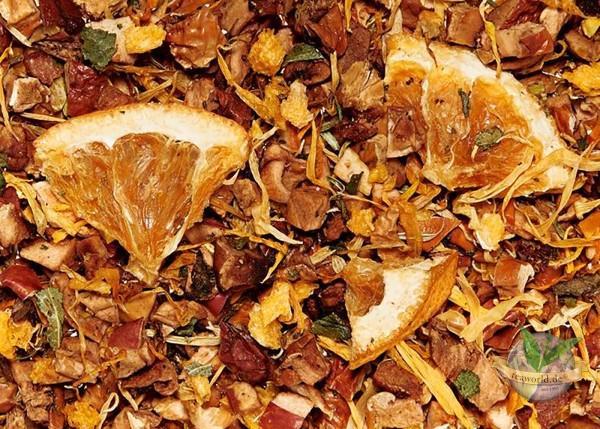 Apfelsinentraum - aromatisierter Früchtetee