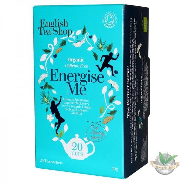 English Tea Shop - Energise Me, BIO Wellness-Tee, 20 Teebeutel