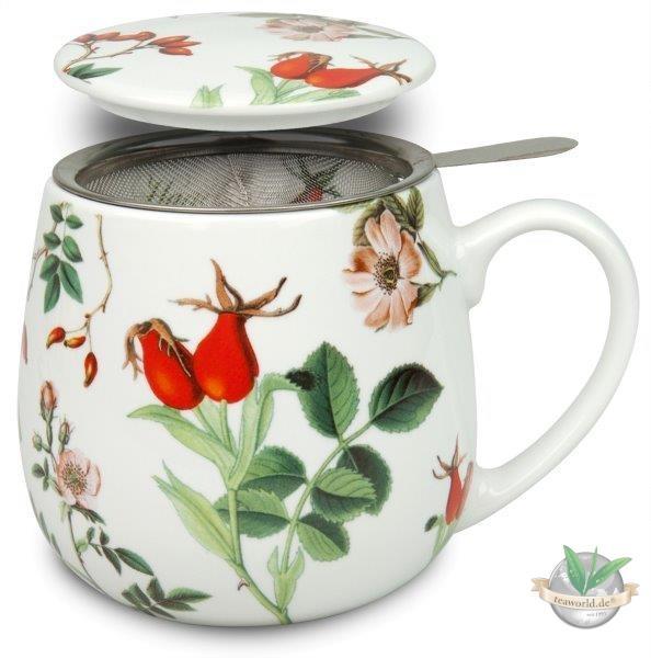 Kuschelbecher: Tea for you - Hagebutte